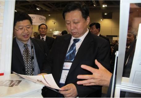 国土部汪部长对阳光创译翻译公司在加拿大PDAC上的翻译工作大加赞许